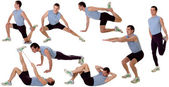 Gym formes — Stock Photo