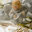 Stock Photo: Angel figure