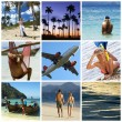 Royalty-Free Stock Photo: Vacation collage