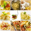 pasta collage — Stockfoto #9122407