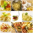Pasta collage — Stock Photo #9122407