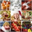 Christmas collage - Foto de Stock