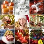 Christmas collage — Stock Photo #9456714