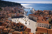 Piran city — Stock Photo