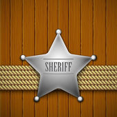 Sheriff — Stock Vector