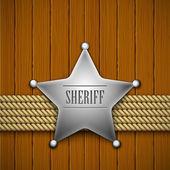 Sheriff — Stok Vektör