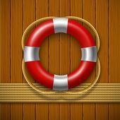Záchranný kruh — Stock vektor