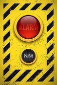 Alarm bulb. — Stock Vector