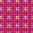 Seamless abstract pattern with stylized circle. Vector — Vektorgrafik