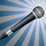 Microphone. Vector illustration — Stock Vector #9086906