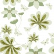 Seamless floral background. Vector illustration - Stock Vector