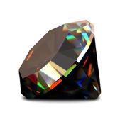 Shiny and bright diamond. Vector — Stock Vector
