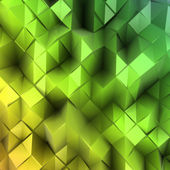 Green triangle abstract. Vector background — 图库矢量图片
