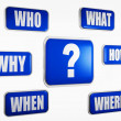 Question concpet — Stock Photo #10339894