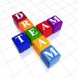 Colour dream team - Stock Photo