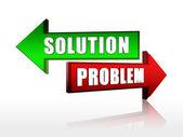 Solution problem — Stock Photo