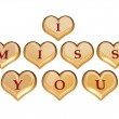 Stock Photo: I miss you 1