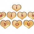 I miss you 1 — Stockfoto
