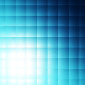 Blue squares background — Stock Photo