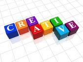 Creatief zijn in kleur — Stockfoto