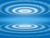 Abstract blue white concentric circles — Stock Photo
