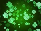 Clovers background — Stock Photo