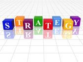 Colour strategy — Stock Photo