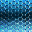 Abstract hexagon background — Stock Photo
