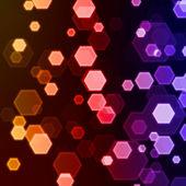 Hexagon background — Stock Photo