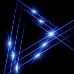 Light triangles — Stock Photo #9871995