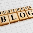 Business blog — Stockfoto