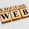 Stock Photo: Social web