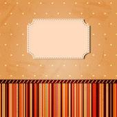 Vintage card — Stock Photo
