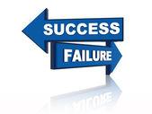 Success failure — Stock Photo
