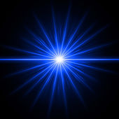 Blue light — Stock Photo