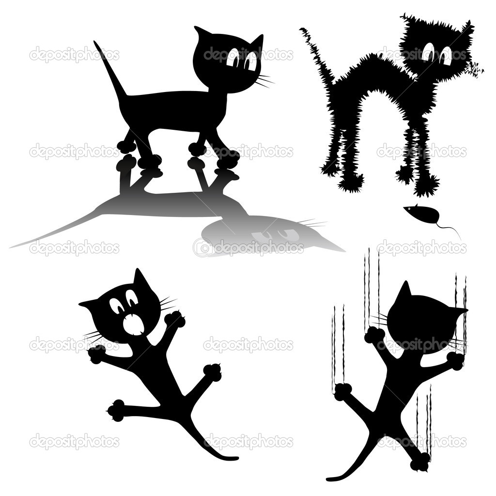 Black Cat — Stock Vector #8501689