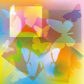 Butterflies. EPS10 — Stock Vector
