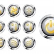 Buttons — Stock Vector #9596612