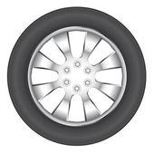 Wheel . — Stock Vector