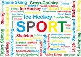Sport . — 图库矢量图片