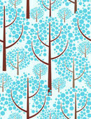 Nature. Seamless background. — Stock Vector