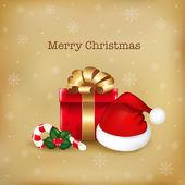 Merry christmas illüstrasyon — Stok Vektör