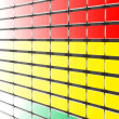 colorful equalizer — Stock Photo