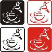 Tee-Abbildung — Stockfoto
