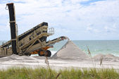 Beach Renourishment — Stock Photo