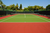 Tennisbaan — Stockfoto