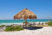 Capanna sulla spiaggia — Foto Stock