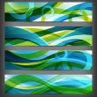 Set of abstract banners / backgrounds — Zdjęcie stockowe