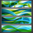 Set of abstract banners / backgrounds — Stock Photo #10223014