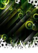 Football Party Design — Stock Photo